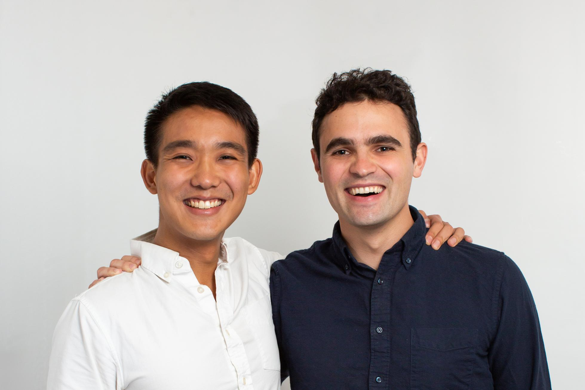 RippleMatch cofounders Andrew Myers and Eric Ho
