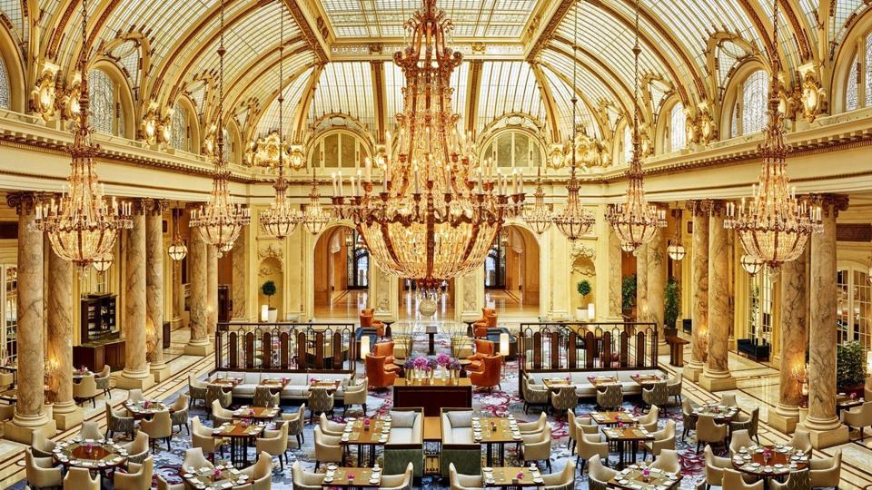 El lobby del San Francisco Palace Hotel