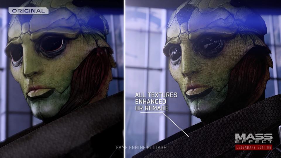 Mass Effect Legendary Edition comparison screenshot