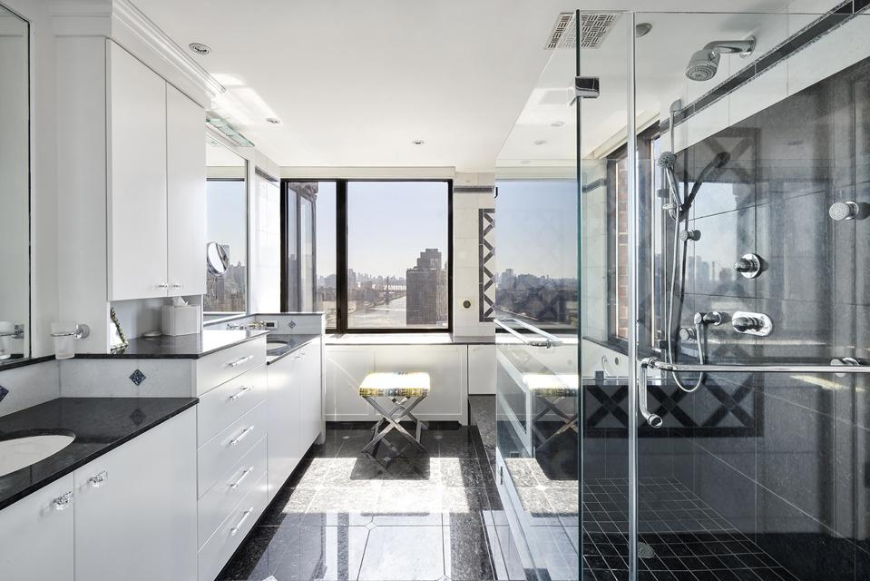 primary bedroom suite inside 52 East End Avenue, Apartment 35 manhattan apartment