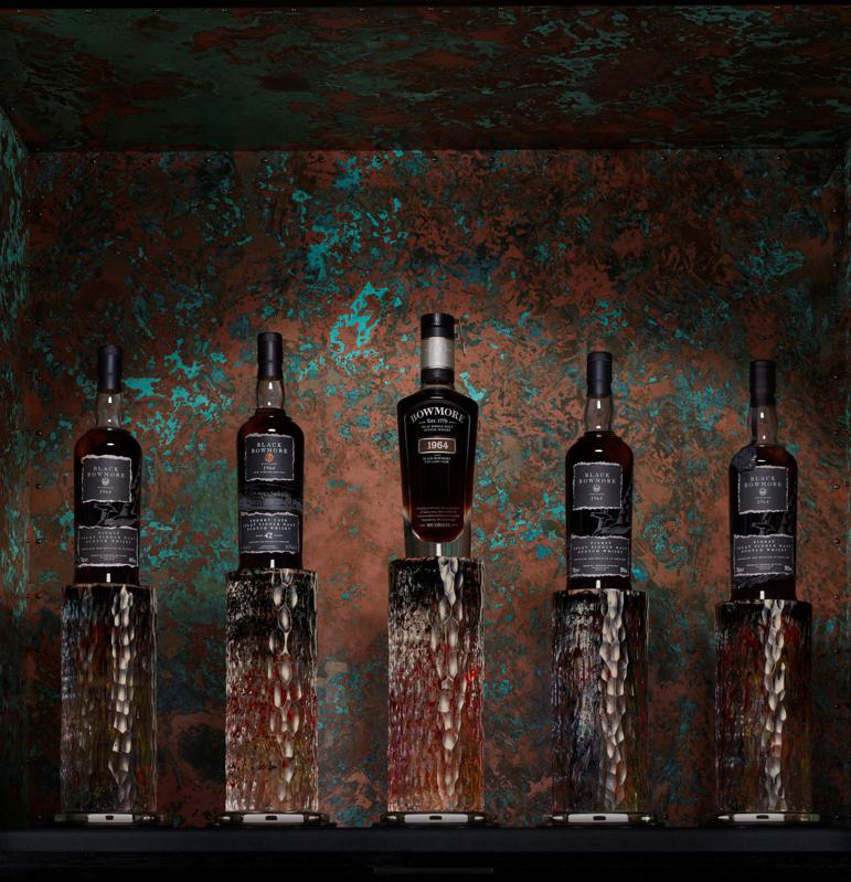 The Five Expressions of Black Bowmore