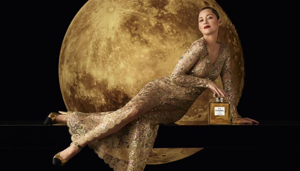 Marion Cotillard. Chanel N°5. N°5. Chanel