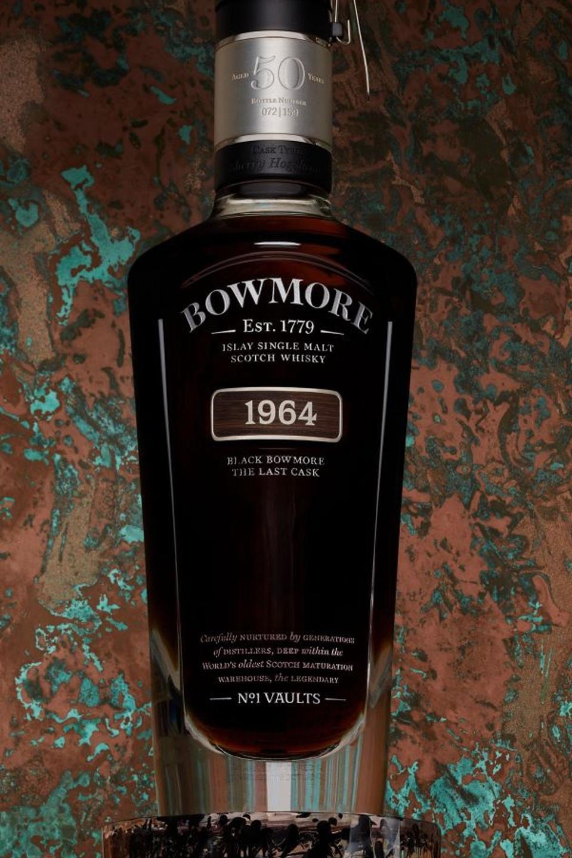 he Black Bowmore 50 YO expression