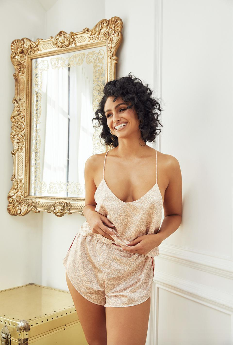 Nazanin Mandi launches her first lingerie and intimates brand, Elle Reve.