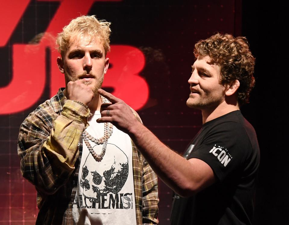 Ben Askren vs Jake Paul odds purses records prediction