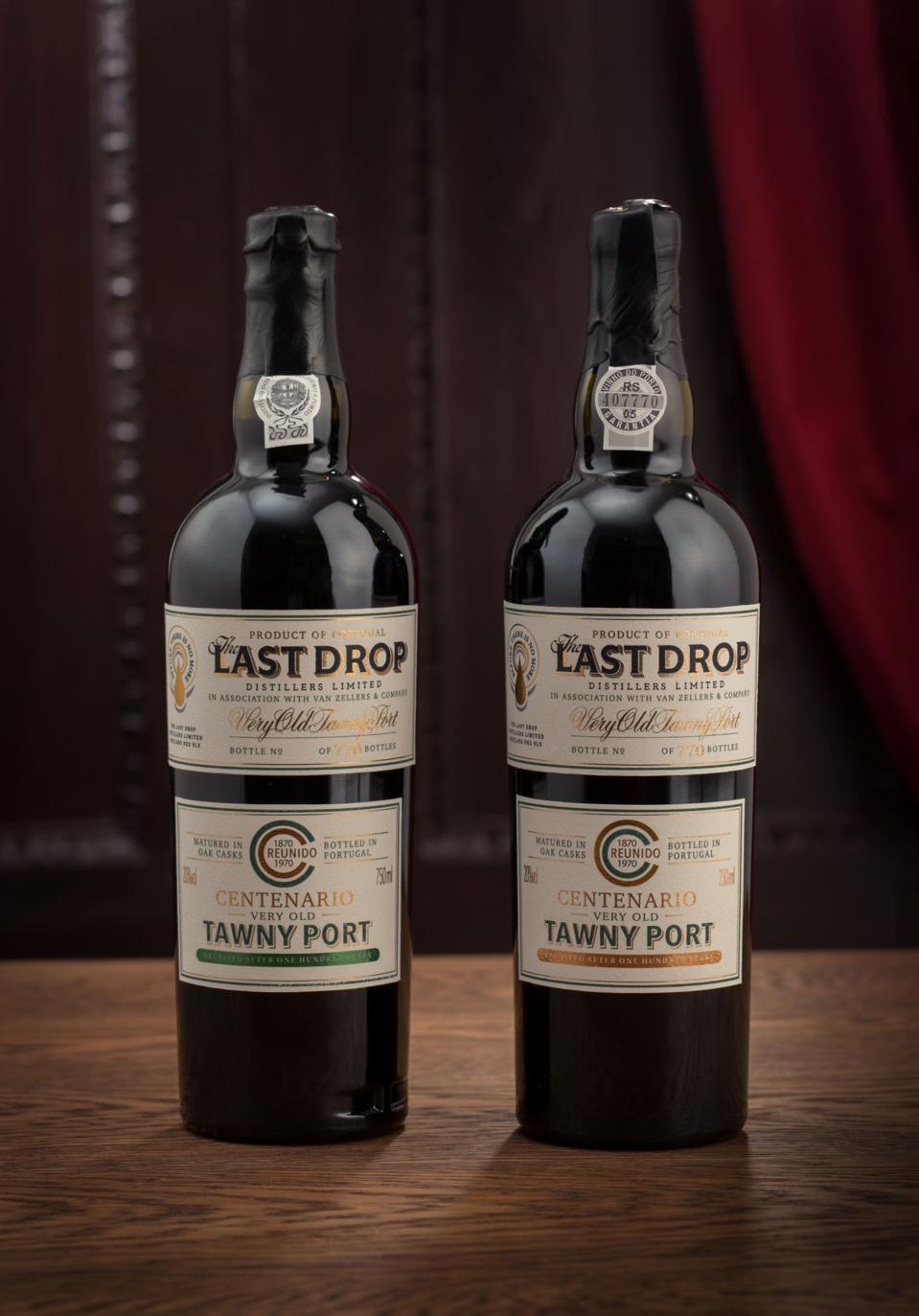 The Last Drop, Centenario, Duo Tawny Port Collection