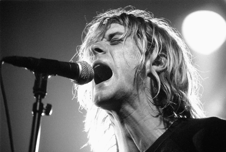 Nirvana Perform Live In Amsterdam