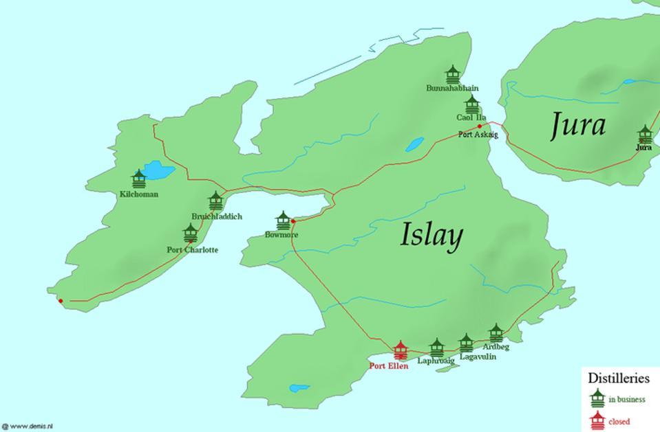 Islay's Distilleries.