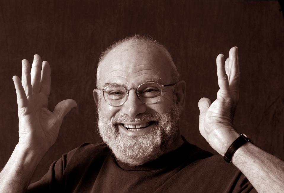 Oliver Sacks smiling.