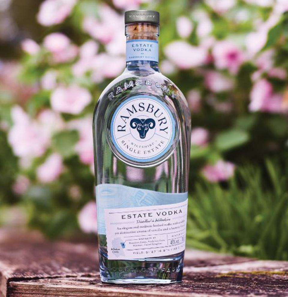 Ramsbury Single Estate Vodka was picked as Spirit of the Year at the 2021 London Spirits Competition