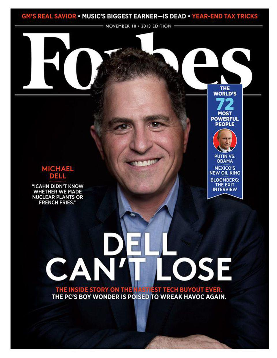 Dell Cover Story