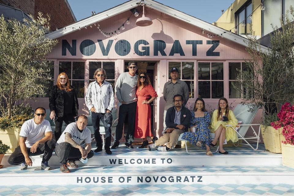 The front of The House Of Novogratz and the Novogratz family.