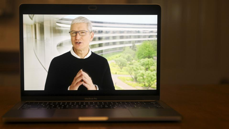 Apple Holds Online Launch Event To Reveal New Watch And iPad