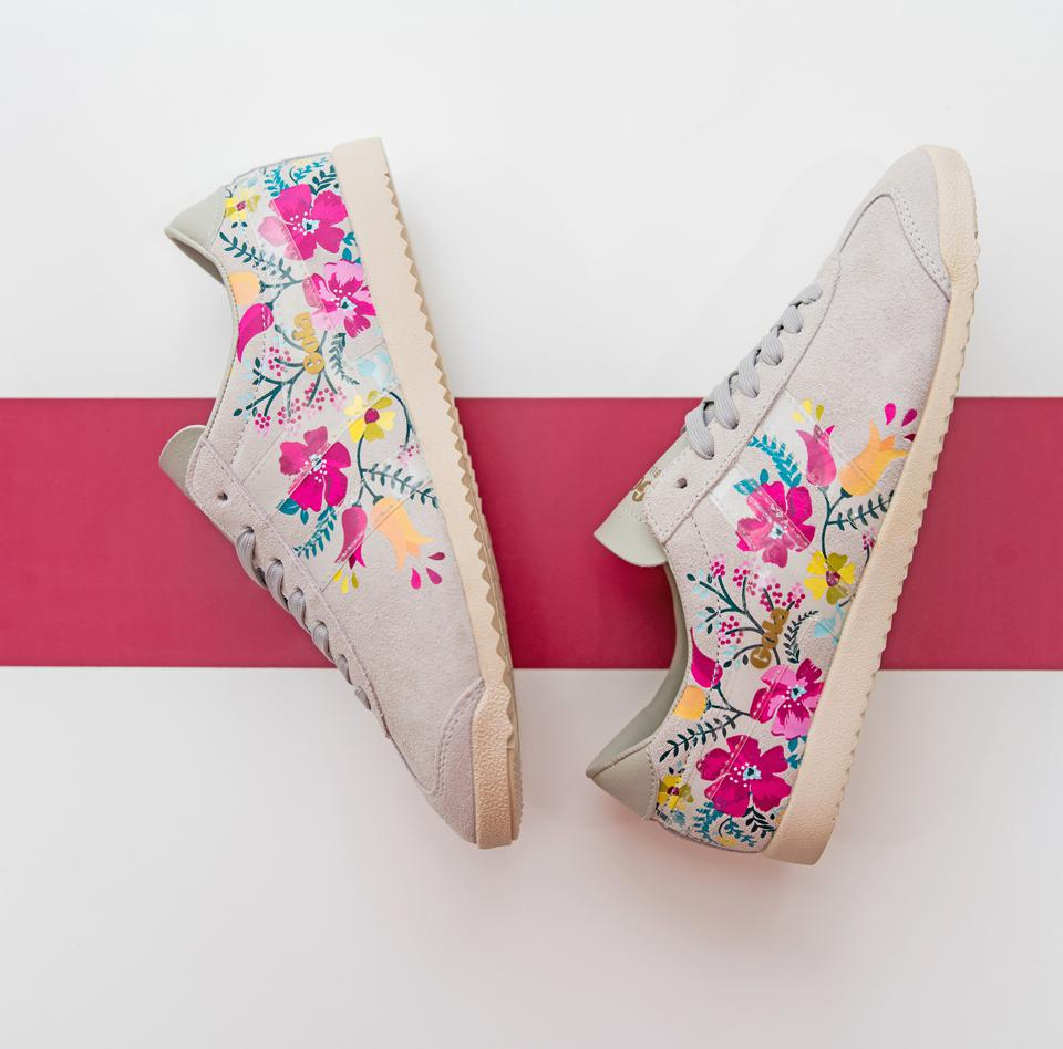 Gola Classics Women's Bullet Floral Sneakers
