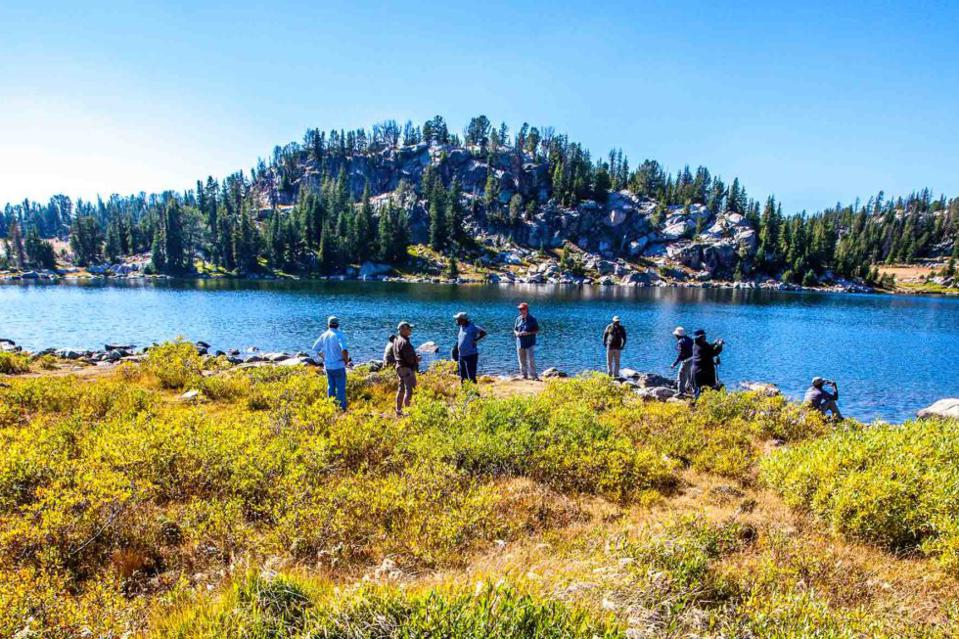 Austin Adventures take guests on a Montana lakeside journey.