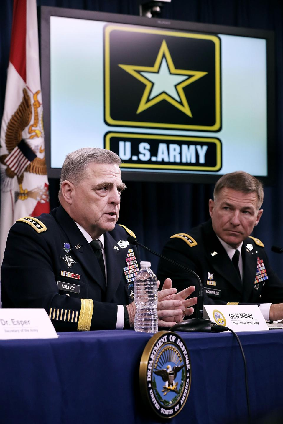 Army Secretary Mark Esper Delivers Major Announcement On Army Futures Command