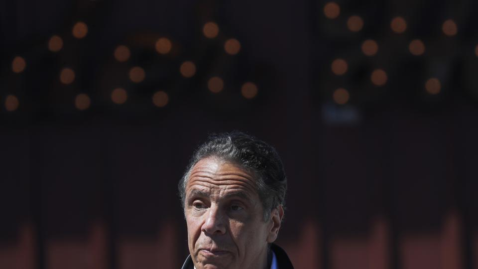 New York Governor Andrew Cuomo Announces Mobile Unit Vaccination Sites