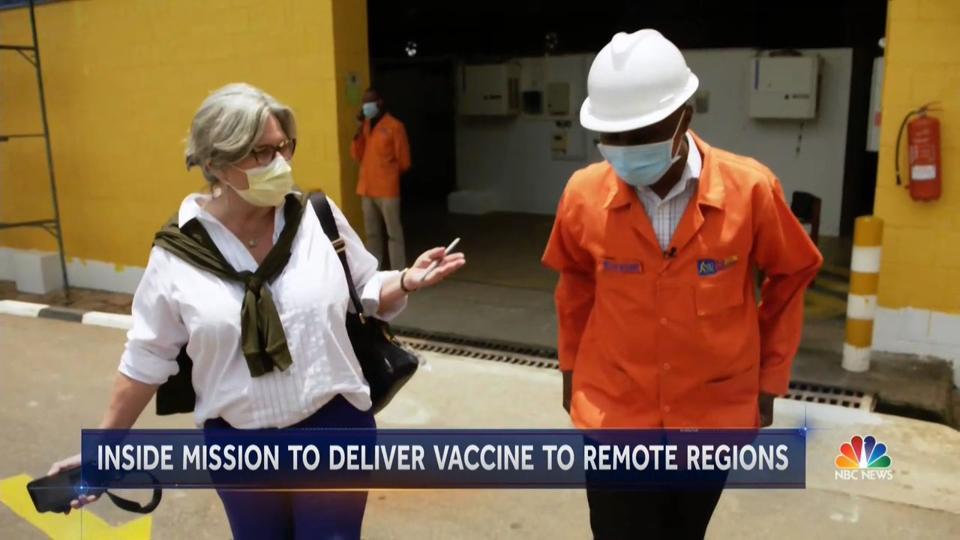 Cynthia McFadden Covid vaccine effort