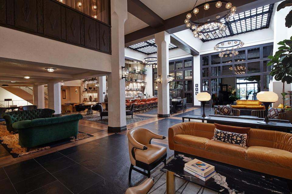 Hotel Figueroa underwent a three-year renovation to revitalize its Spanish Colonial design.
