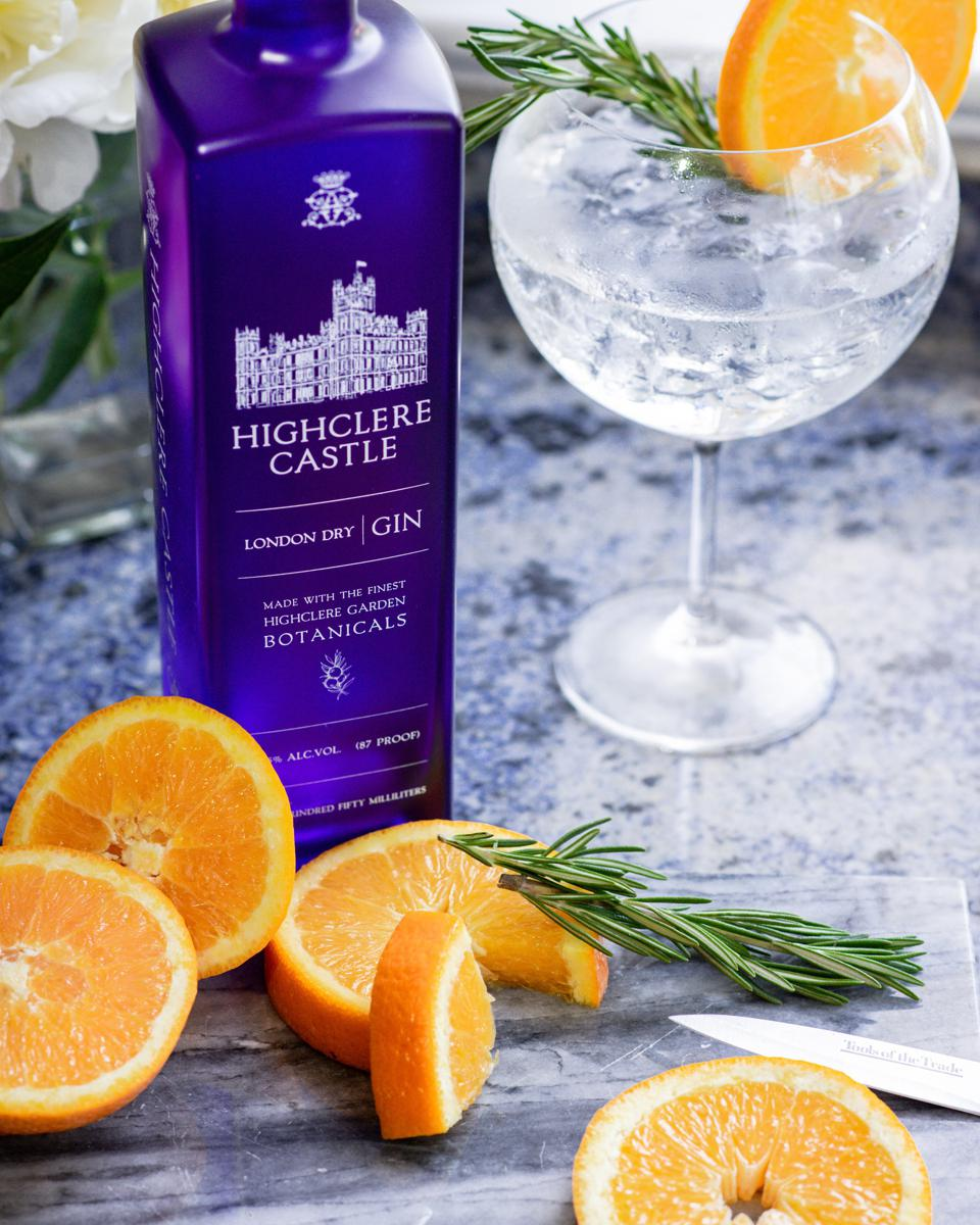 Highclere Castle Gin and Tonic