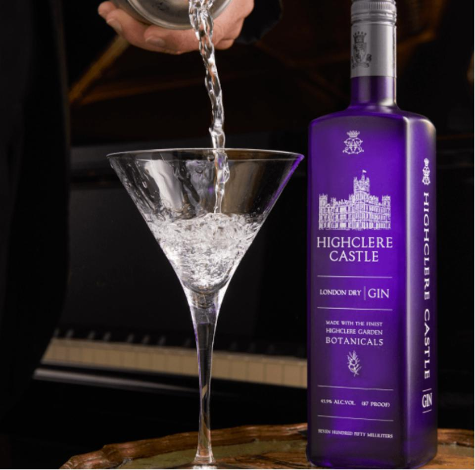 Highclere Castle Gin Martini