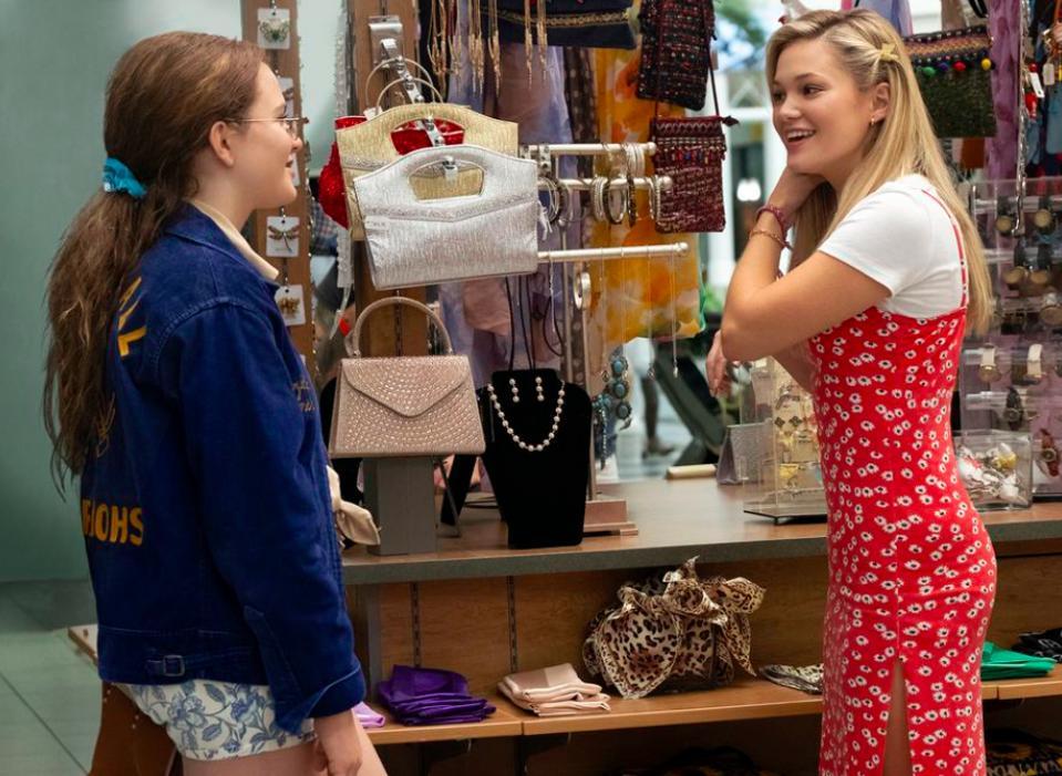 Chiara Aurelia and Olivia Holt star in ″Cruel Summer″ on Freeform.