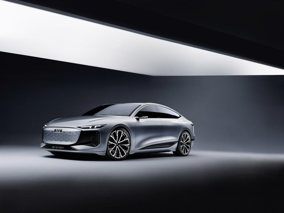 Audi A6 e-tron Concept, Shanghai Auto 2021