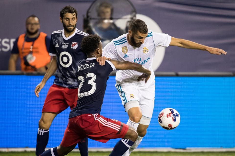 MLS All-Star match MLS All-Stars v Real Madrid