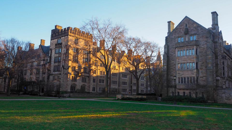 yale university view, New haven, Connecticut, United States