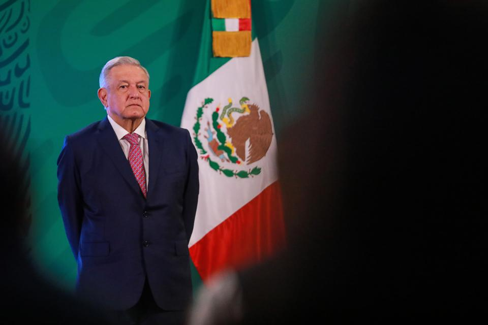 Lopez Obrador Resumes Public Activities After Recovering From Coronavirus