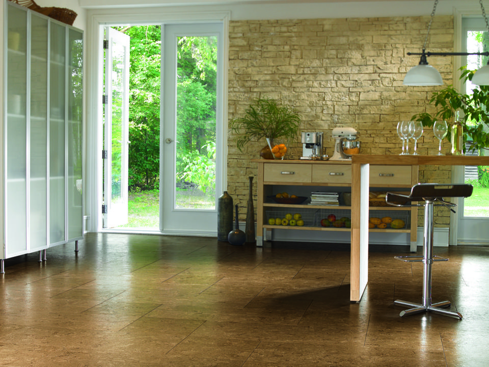 Cork kitchen floors