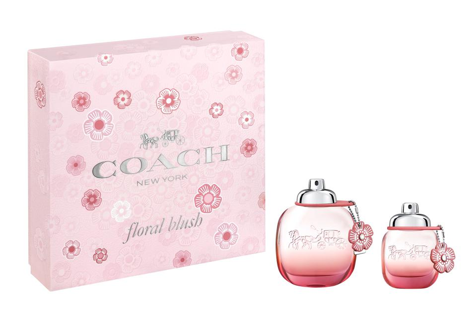 Coach Floral Blush 2-Piece Set - Juicy goji berries meet vibrant peony florals and creamy white woods in this bold, lively scent.