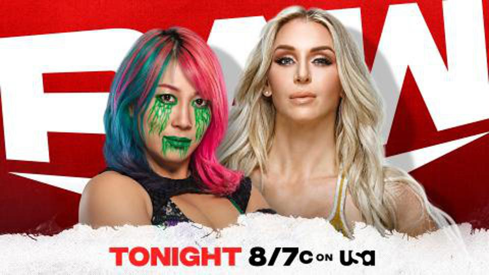 Asuka vs. Charlote on WWE Raw