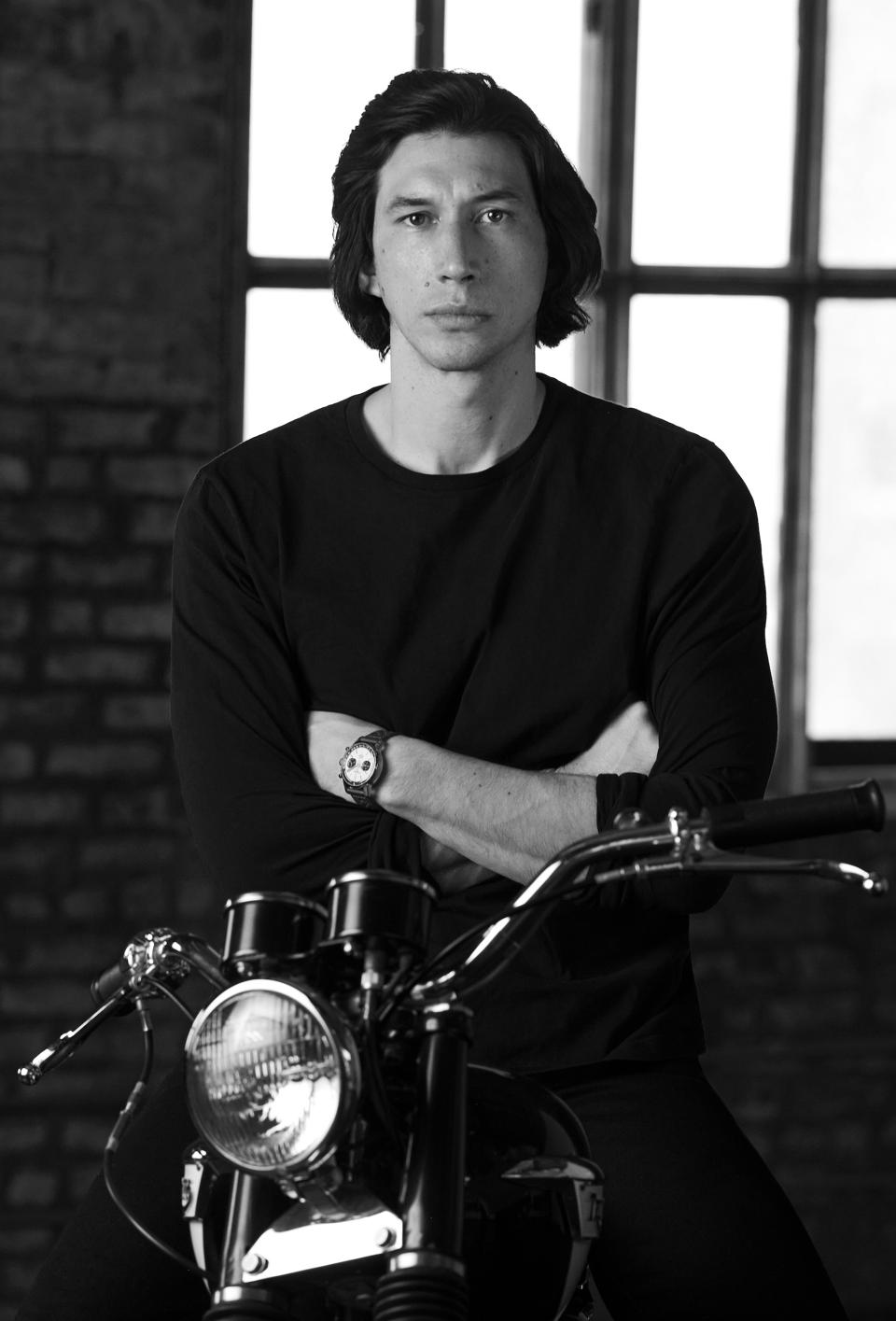 Adam Driver in Italy where he's filming the House of Gucci movie with Lady Gaga