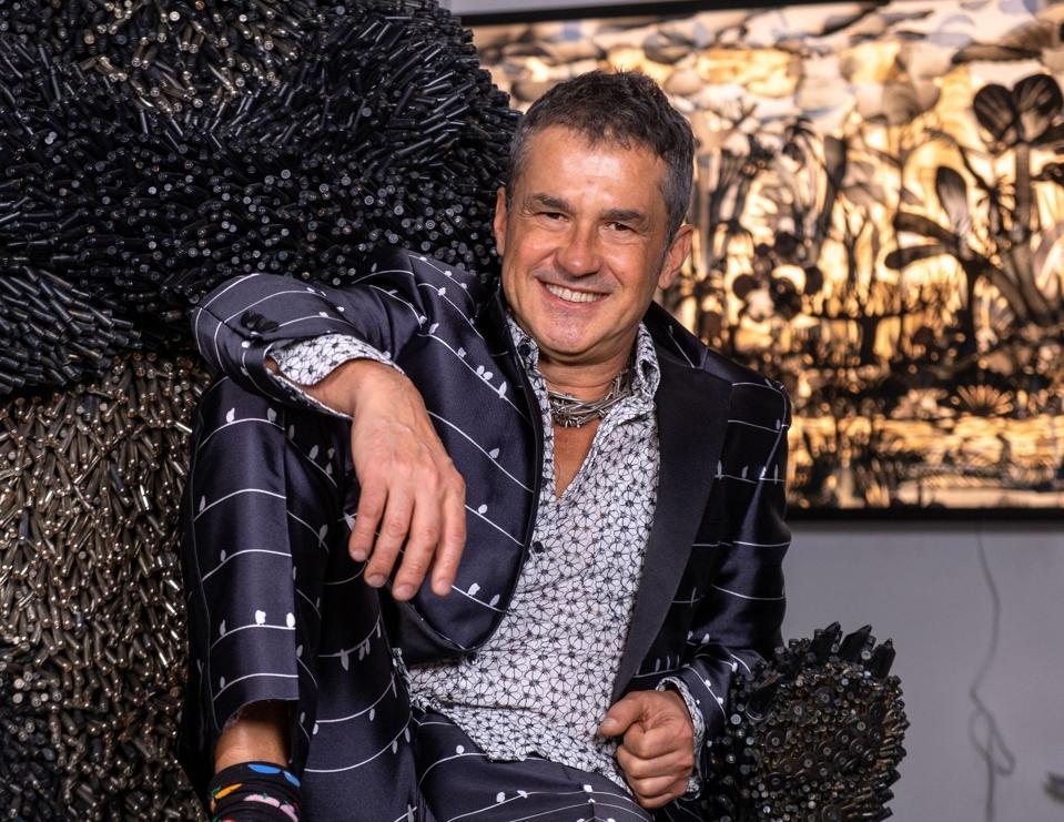 Federico Uribe. Fashion Designer. Miami