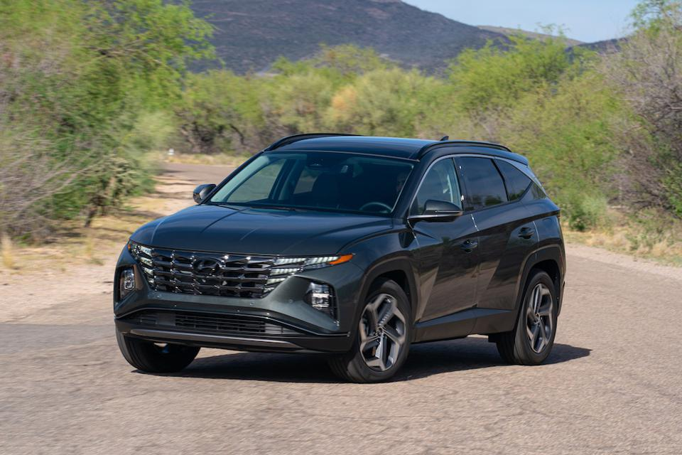 2022 Hyundai Tucson Front