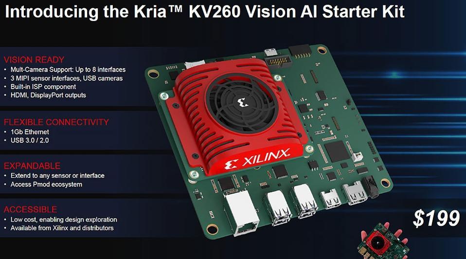 Xilinx Kria KV260 Vision AI Starter Kit