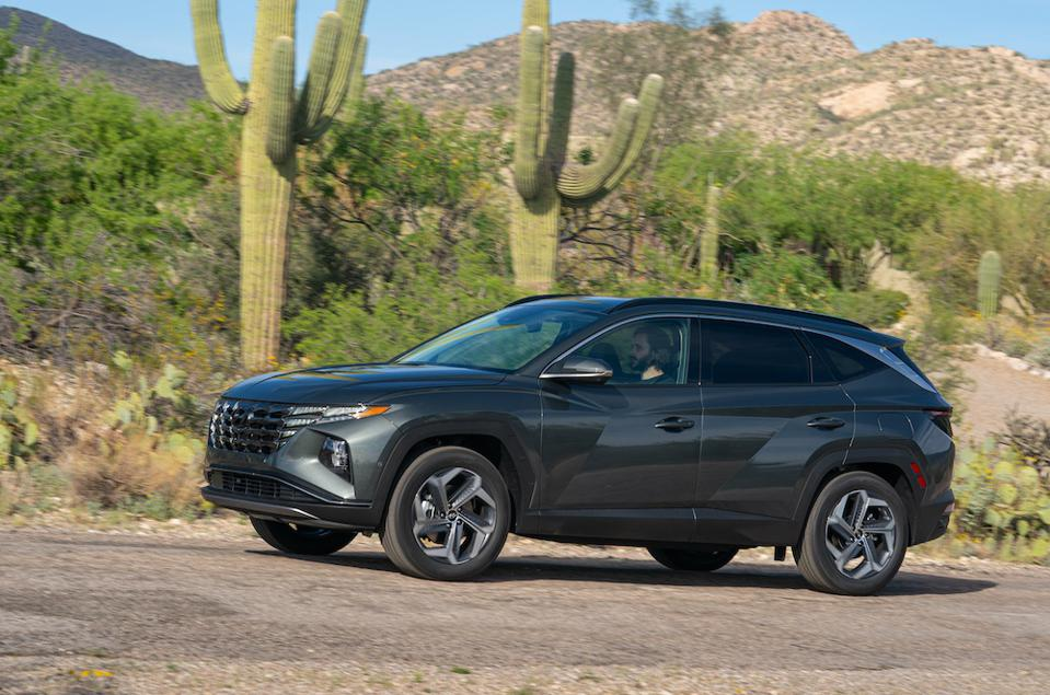 2022 Hyundai Tucson Gray