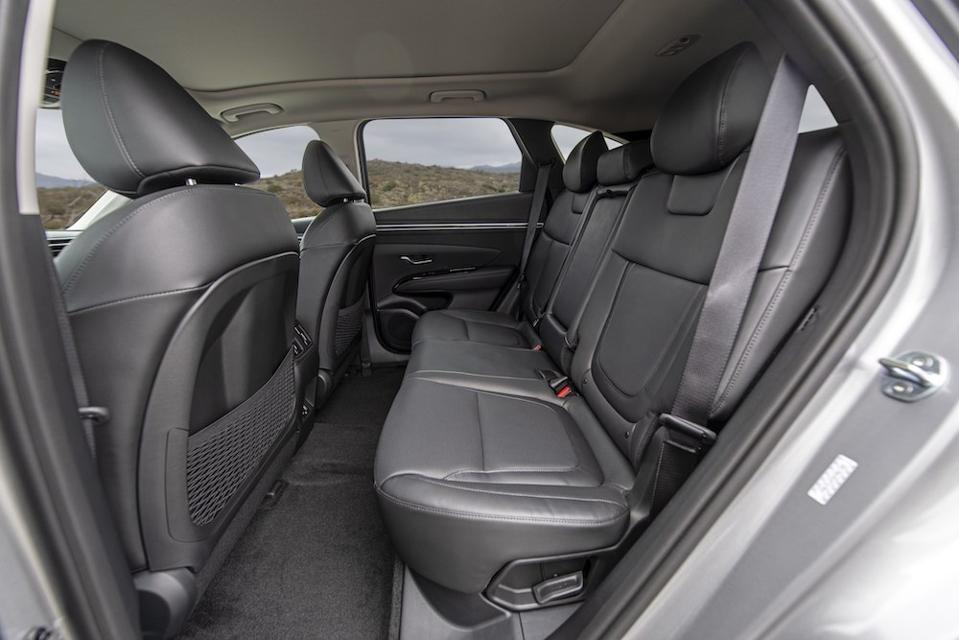 2022 Hyundai Tucson Rear Seat