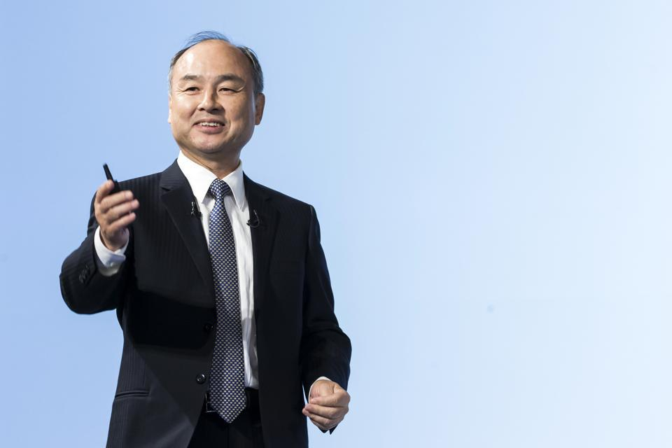 Masayoshi Son, the founder and chairman of SoftBank Group