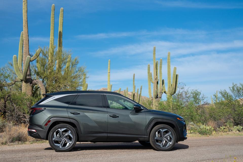 2022 Hyundai Tucson Profile Gray