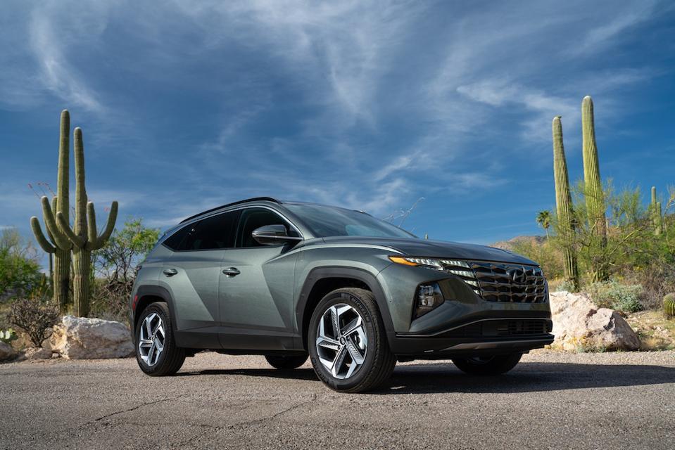 2022 Hyundai Tucson Front Gray