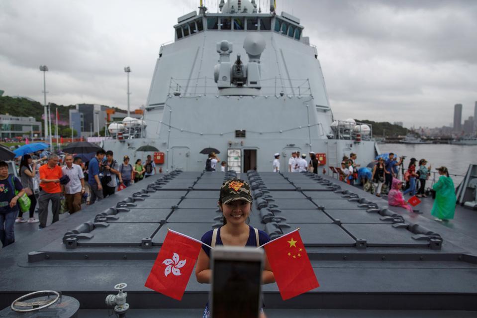 HONG KONG-CHINA-POLITICS-MILITARY-HANDOVER