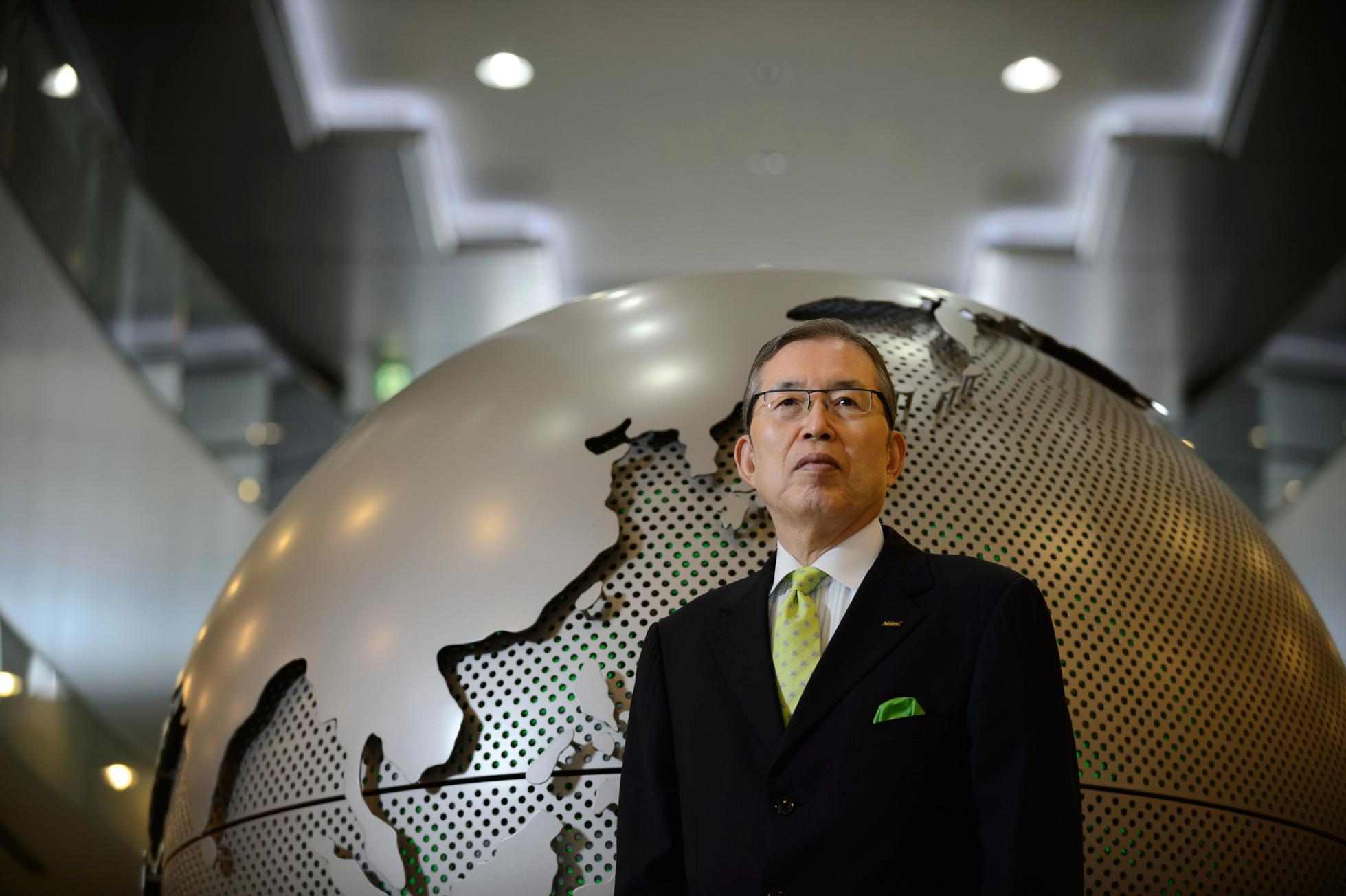 Nidec Corp. Founder Shigenobu Nagamori