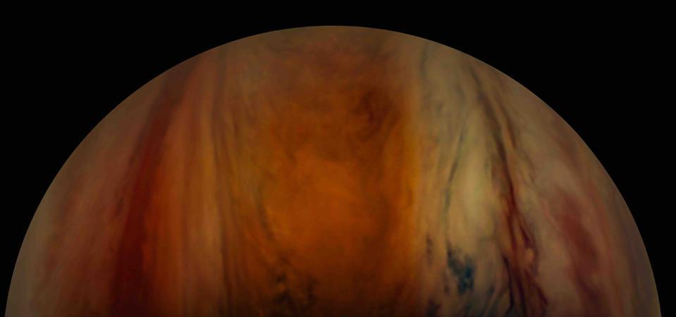 Jupiter's equatorial zone as taken on Image taken on 15th April 2021.