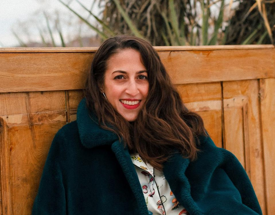 Natalie Ginsberg, co-founder of Jewish Psychedelic Summit