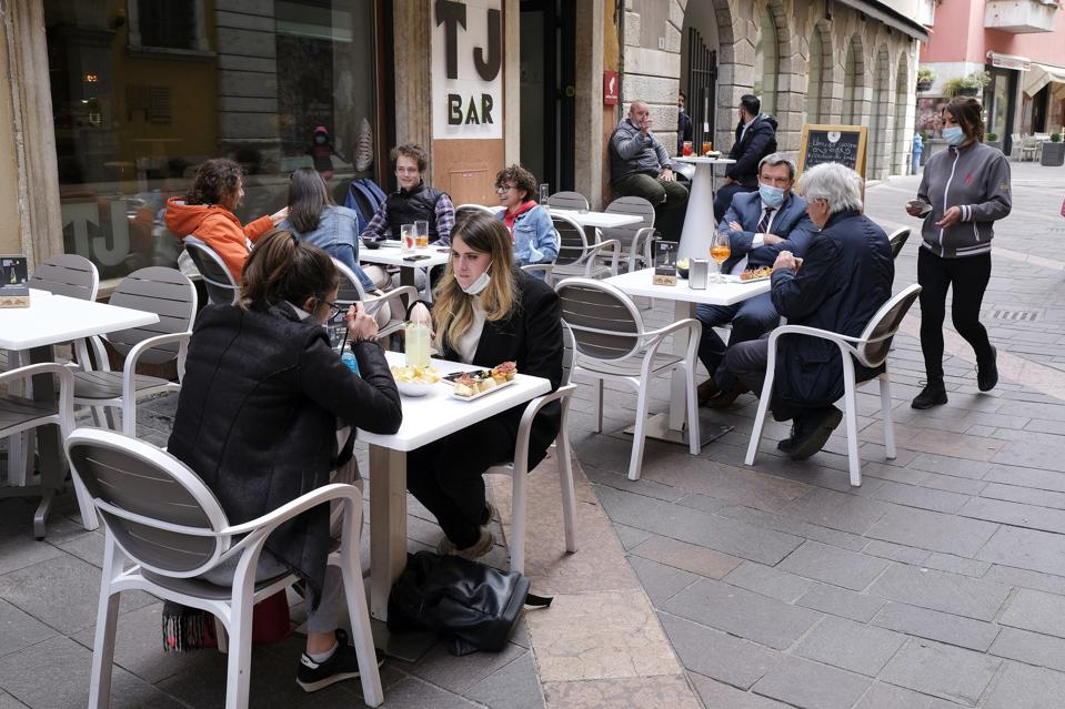 Bars And Restaurants Open In Trento One Week Earlier Than Rest Of Italy