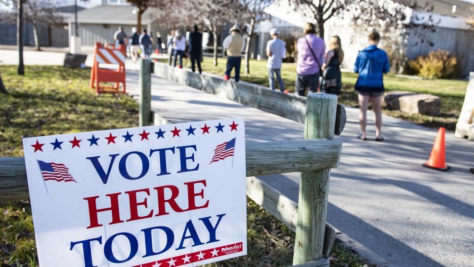 Election 2020 Montana Voting
