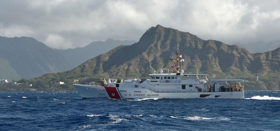 Coast Guard Cutters like this are run by early career officers as well as Warrant Officers.