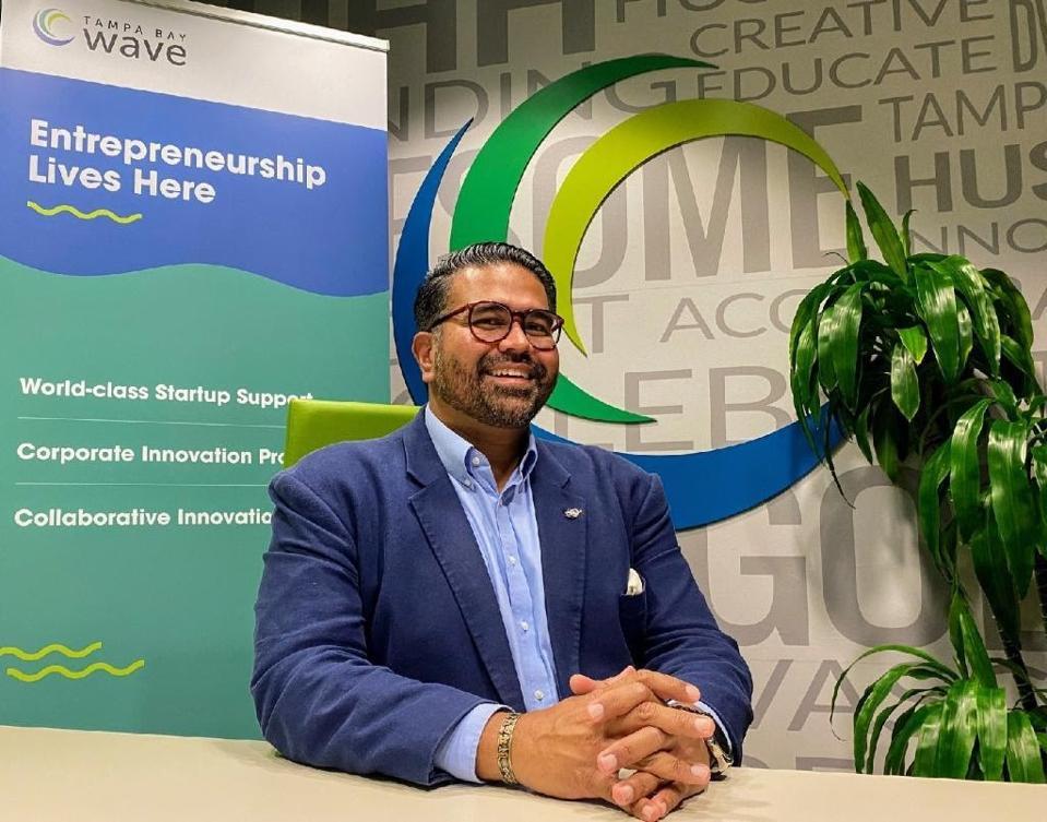 Dr. Richard Munassi, a leader at the Tampa Bay Wave, a non-profit organization that assists entrepreneurs